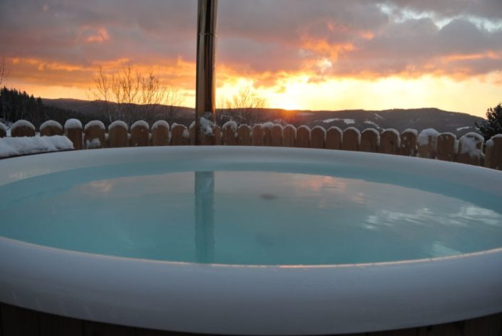 Hot Pot Sonnenaufgang