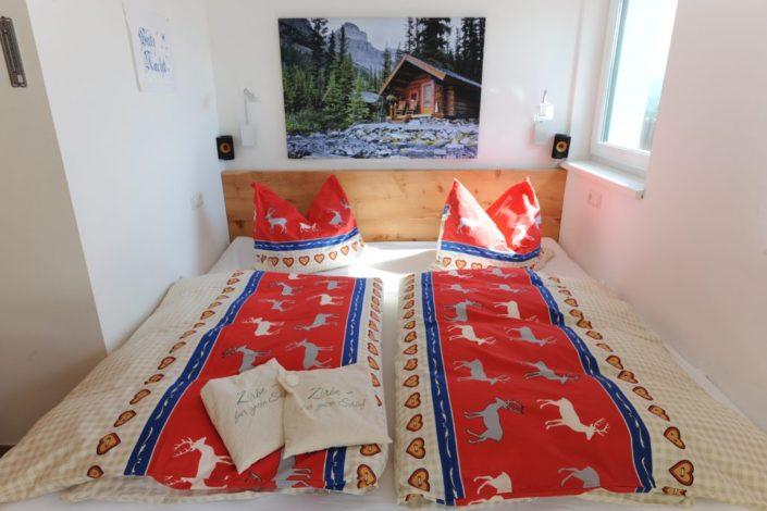 Schlafzimmer Untergeschoß