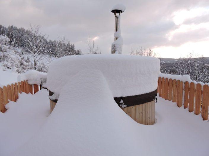 Hot Pot im Winter