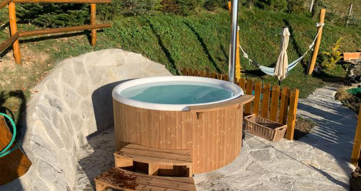 chalet für 2 personen mit whirlpool österreich