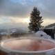 Hot Pot bei Sonnenuntergang!
